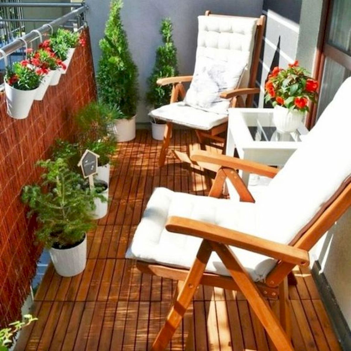 70 Awesome Small Garden Ideas for Apartment (5)