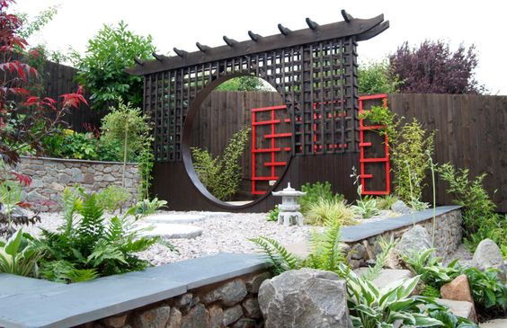 20 Awesome Backyards Japanese Garden Design (14)
