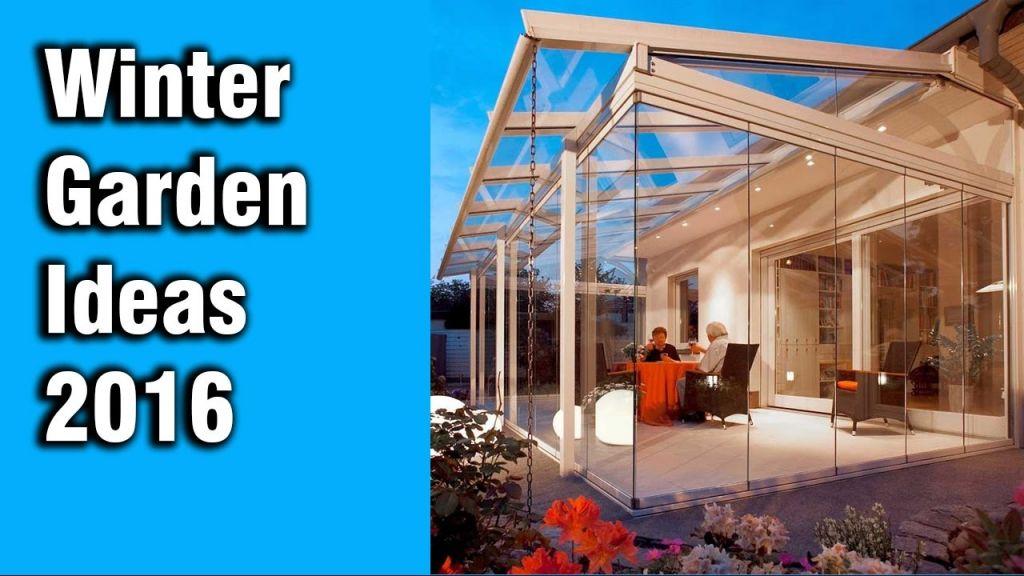 Beautiful  winter garden ideas