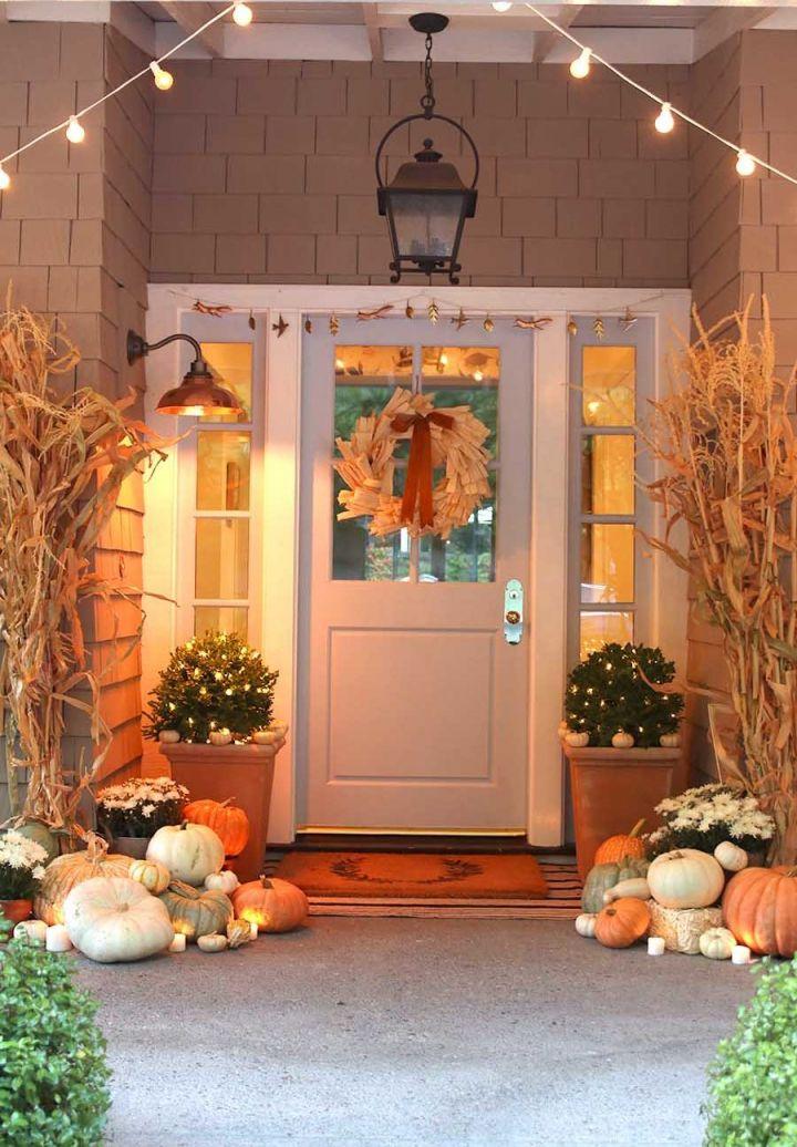 Wonderful  fall decor ideas for porch