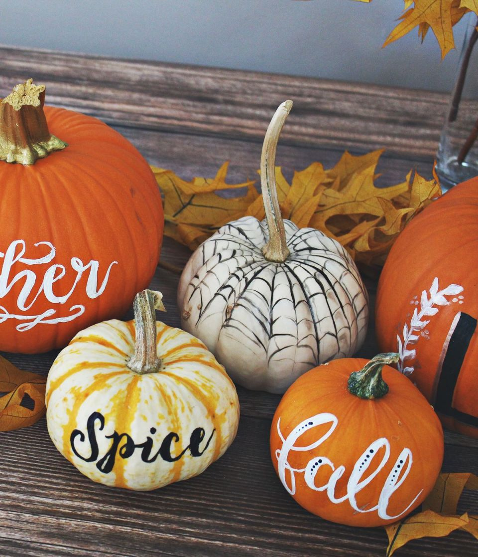 Gorgeous  pumpkin decorations for fall