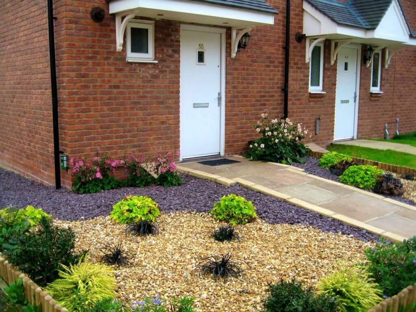 Amazing front garden ideas with gravel