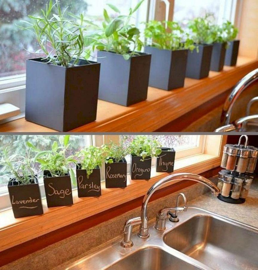 Adorable  indoor herb garden ideas