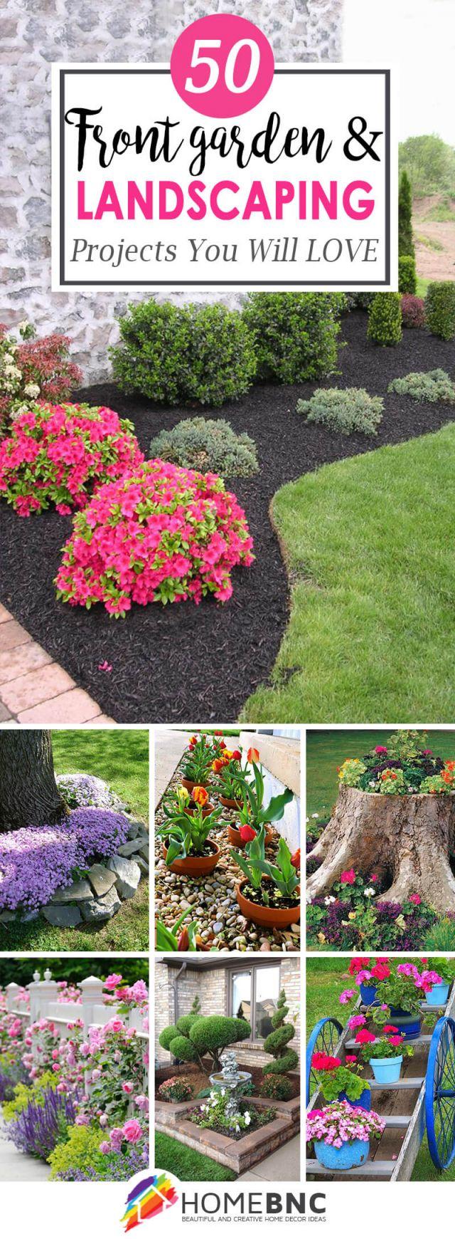 Fantastic  front garden border ideas