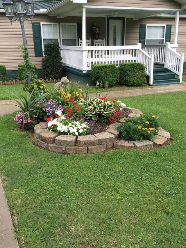 Fantastic  low maintenance front garden ideas